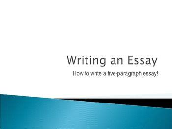 How to write English language papers